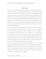 TỔ CHỨC kế TOÁN tại CÔNG TY TNHH sản XUẤT THƯƠNG mại  DỊCH vụ CHUNG PHÁT