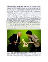 6 kỹ thuật trong nghệ thuật đàm phán và thương lượng