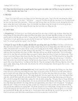 Đề cương ôn tập ngữ văn HKI lớp 11