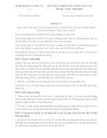 Thông tư 07/2016/TT-BKHĐT quy định lập hồ sơ mời thầu, hồ sơ yêu cầu mua sắm đối với đấu thầu qua mạng