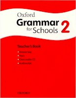 Oxford grammar for schools 2 TB