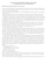 20 bài NGHỊ LUẬN XÃ HỘI ÔN THI THPT QUỐC GIA LỚP 12