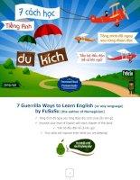 7 cách học tiếng Anh du kích (song ngữ từng đoạn ViệtAnh) v1.5
