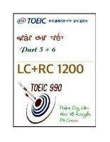 Giải chi tiết bộ đề TOEIC 1200