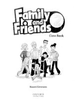 Family and friends class book