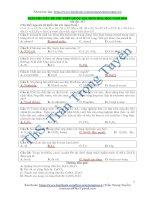 Giải chi tiết đề thi THPTQG môn hóa năm 2016