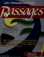 Passages  book 1  jack c  richards, chuck sandy; bùi quang đông, bùi thị diễm châu (dịch và chú giải)
