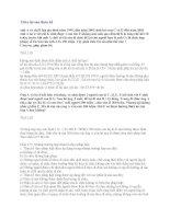 Bài tập chia tài sản thừa kế môn Pháp luật đại cương