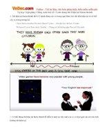 Tự học Ngữ pháp Tiếng Anh bài 13: Cách dùng thì Hiện tại Hoàn thành