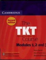 tkt modules 1, 2  3