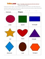 Flashcards for Kids: Shapes