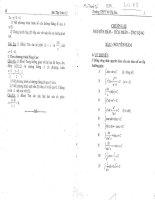 Bài tập toán 12 học kỳ 2 thpt võ thị sáu