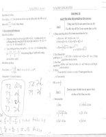 Bài tập toán 12 học kỳ 2 thpt hoàng hoa thám