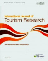 The international journal of tourism research  tập 13, số 06, 2011   11 + 12