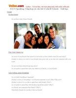 IELTS Speaking: Tổng hợp các câu hỏi về chủ đề Friends - Tình bạn