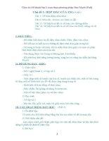 Giáo án Mĩ thuật lớp 2 soạn thep phương pháp Đan Mạch bản đẹp (Full)