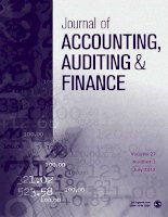 Journal of accounting, auditing  finance  tập 27, số 03, 2012 7