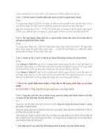 TRẮC NGHIỆM VÀ CÂU HỎI LUẬT HÀNH CHÍNH (KÈM LỜI GIẢI)