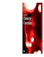 Journal of chinese cinemas   volume 2 issue 1