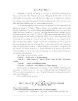 Luận văn thực trạng kế toán tổng hợp của công ty TNHH vũ dương