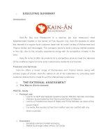 Kế hoạch kinh doanh nhà hàng Kain an BP