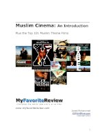 Javed mohammed   muslim cinema ~ an introduction, plus the top 101 muslim theme films