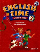 Oxford english time student book 2