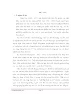 Nghệ thuật tự sự trong truyện ngắn của Nam Cao  (việt nam) và Ruinôxkê akutagawa (nhật bản)
