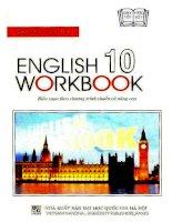 English 10 workbook nguyễn bảo trang