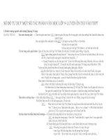 phân tích một số tác PHẨM văn học lớp 9