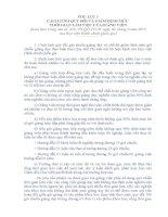 CÁCH TÍNH QUY ĐỔI VÀ GIẢM ĐỊNH MỨC THỜI GIAN LÀM VIỆC CỦA GIẢNG VIÊN