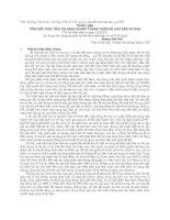 THAM LUẬN TỔNG kết THỰC TIỄN THI HÀNH và góp ý HOÀN THIỆN bộ LUẬT dân sự 2005