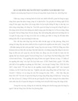 QUAN HỆ DÒNG HỌ NGƯỜI VIỆT TẠI ĐÔNG NAM BỘ HIỆN NAY