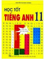 Học tốt tiếng anh 11 nguyễn thị minh hương