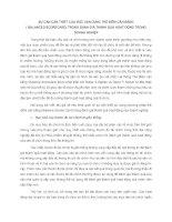 SỰ CẦN CẦN THIẾT CỦA VIỆC VẬN DỤNG THẺ ĐIỂM CÂN BẰNG (BALANCED SCORECARD) TRONG ĐÁNH GIÁ THÀNH QUẢ HOẠT ĐỘNG TRONG DOANH NGHIỆP