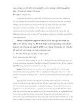CÁC CÔNG CỤ ĐỂ XÂY DỰNG CHIẾN LƯỢC NGÀNH KIỂM TOÁN ĐỘC LẬP TRONG BỐI CẢNH HỘI NHẬP