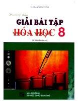 Hướng dẫn giải bài tập hóa học 8 trần trung ninh