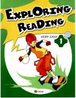 Exploring reading very easy 1 sb