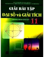 Giải bài tập đại số và giải tích 11 nâng cao nguyễn văn lộc