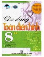 Các dạng toán điển hình 8 tập 2 lê đức