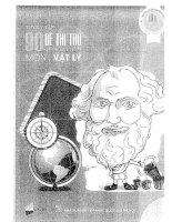 Tuyển tập 90 đề thi thử THPT quốc gia môn vật lí  tập 3 lovebook