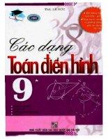 các dạng toán điển hình 9 tập 1 lê đức