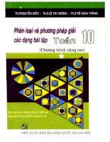 Phân loại và phương pháp giải các dạng bài tập toán 10 tập 1 nguyễn kiếm