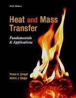 Heat and mass transfer fundamentals and applications  yunus a  cengel, afshin j  ghajar