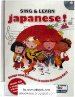SING AND LEARN JAPANESE