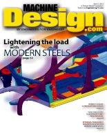 Machine design, tập 84, số 05, 2012
