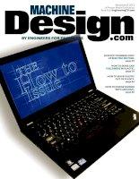 Machine design, tập 84, số 17, 2012