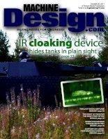 Machine design, tập 83, số 18, 2011