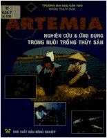 Artemia   nghiên cứu và ứng dụng trong nuôi trồng thủy sản  nguyễn văn hòa và các tác giả khác pdf