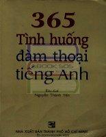 365 tình huống đàm thoại tiếng anh   nguyễn thành yến